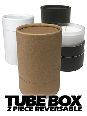 Tube Box - 2 Piece Reversible