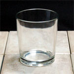7 oz. Bayside Clear GlassCandle Container