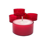 Red Tealight Cups
