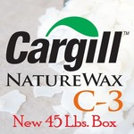 Cargill C3 NatureWax 100% Soy Wax (45 lb. case)