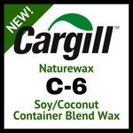 C-6 Coconut Soy Wax Blend