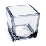Small Square Clear Glass